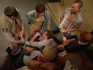 Big Cock,Gloryhole,Hunks,Threesome,Blowjob,group sex,daddy,gay,Blu Kennedy,Gus Mattox,Mike Grant Gale Force Men's Room 2