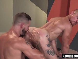 Anal,Hunks,Rimming,gay,ass,bear,fuck,muscled Redhead bear anal and cumshot