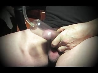 Men (Gay);Gay Porn (Gay);Amateur (Gay);Crossdressers (Gay);Sex Toys (Gay) pumping cock vaccum gay man sounding urethral dildo toy