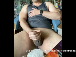 big-cock;dirty-talk;precum;gay-asian;asian;jerk-off;masturbation;nerd,Asian;Muscle;Solo Male;Big Dick;Gay;Amateur;Handjob Nerdy Asian Guy Tries to Talk Dirty While Stroking His Thick Cock