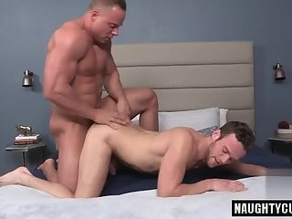 Anal,gay,ass,hardcore,big dick,deepthroat,muscled Big dick bodybuilder anal sex and cumshot