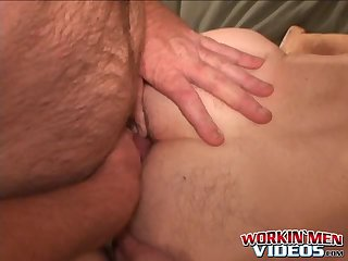 Cumshot,Amateur,Masturbation,Solo,Big Cock,Mature,Tattoo,big dick,hairy,workingmenvideos,gay Old backdoor bandit with tattoos plays with his cock solo