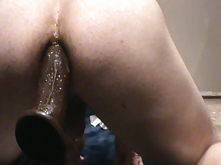 Big Cocks (Gay);Crossdressers (Gay);Gaping (Gay);Masturbation (Gay);Men (Gay) jennifer riding black cock like a dirty slut
