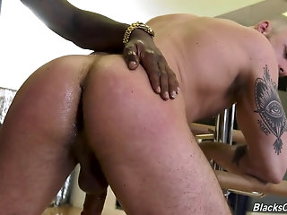 Anal,Ebony,Interracial,muscle,ass fuck,thug,gay Jessie Colter and Fame