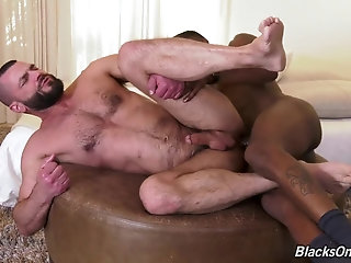 Anal,Ebony,Interracial,hardcore,bbc,hairy ass,.muscle,balck on white,gay Jake Morgan & Deepdicc