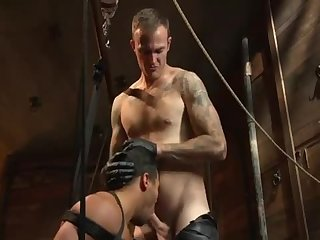 Anal,Domination,Fetish,bdsm,muscled, dungeon,gay bound Him Then Hard bang