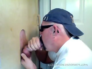 Amateur,Gloryhole,Homemade,Mature,Blowjob,gay Amateur Redhead Gets a Gloryhole Suck Off