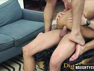 Anal,Gangbang,Threesome,Bareback,group sex,muscle,cock 2 cock,gay Latin gay trio With ejaculation