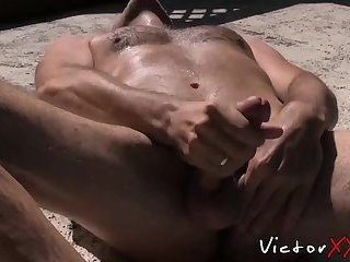 Cumshot,Masturbation,Solo,Big Cock,Mature,Blowjob,gay sex,hardcore,big dick,hairy,gay porn,pool,hardcore gay,victorxxx,gay Lusty butt pirate plays with his dick by the pool and cums