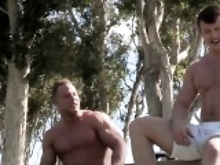 BDSM (Gay),Big Cocks (Gay),Gays (Gay),Hunks (Gay),Men (Gay) Muscle bodybuilder anal sex with cumshot
