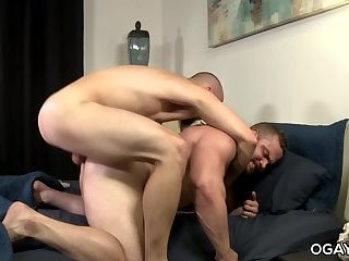 oral,anal sex,hardcore,condom,brunette,hairy,facial hair,Tattoo/Piercing,gay Gay bear and her lover