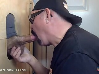 Amateur,Gloryhole,Homemade,cock sucking,gay Another Dick Done At The Gloryhole