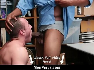 Anal,Bareback,bear,cop,bearded,caught,thief,shoplifting,shoplifter,youngperps,gay Beefy Cop Fucks Straight Guy For Stealing Gift