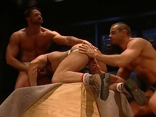 Anal,Big Cock,Bears,Body Builders,Pornstars,Blowjob,gay,Bo Knight,Victor Rios,Joey Dino Drill To The Point