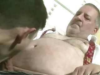 Big Cock,Fat, old vs young,gay Welcome to the neighborhood! - gay mature porn