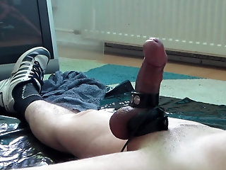 Cumshot,Amateur,Masturbation,Solo,Fetish,Handjob,Homemade,Object Insertion,bdsm,cbt,gay Masturbate=Pleasure!