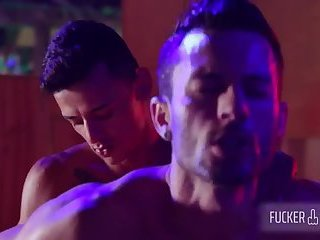 Anal,Cumshot,Hunks,Party,gay raw Night At The Moon - Barcelona - Camilo Uribe & Andy Star