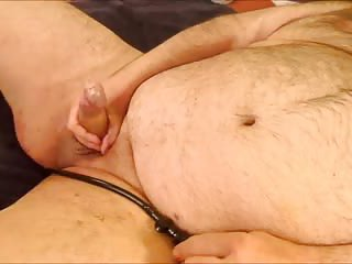 gay Fat Guy Solo Action