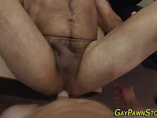 Brawny amateur analized