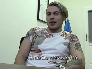 Blowjob (Gay),Gays (Gay),Muscle (Gay),Reality (Gay) A cute Slovakian guy came to my office today. He wanted to