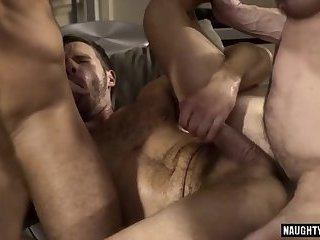 Anal,Gangbang,gay,big dick,double penetration, flip flop Big dick gay flip flop with cumshot