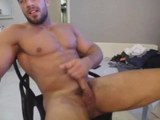 handjob;solo;male;hunks;jock;muscle;uncut;british;straight;guys;webcam,Muscle;Solo Male;Gay;Hunks;Straight Guys;Handjob;Uncut;Jock;Webcam Watch Crazy Good Looking Guy Flex His Muscle While Masturbating