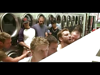 BDSM (Gay);Gangbang (Gay);Gay Porn (Gay);Group Sex (Gay) laundromat