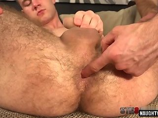 Domination,Fetish,Handjob,gay,hairy,straight, ass play,gaping,hairy ass,fingerin Hairy gay gaping and cumshot