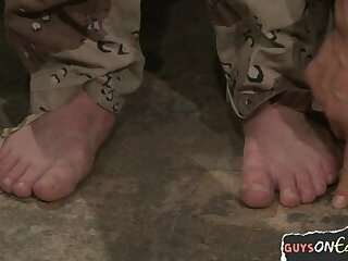 Bondage,Domination,Object Insertion,Uniform,bdsm,army,gay Ripped army stud edged and restrained