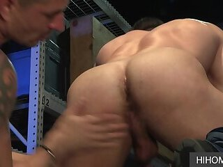 Anal,Rimming,Tattoo,Blowjob,doggystyle,Meatspin,gay,Derek Bolt Gay Stallions Derek Bolt and Sean Maygers Picking a Warehouse Location