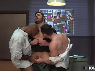 Anal,Interracial,Rimming,Threesome,Blowjob,bbc,gay,Derek Bolt,Kurtis Wolfe An Exciting Gay Interracial Threesome with a BBC - Derek Bolt, Daymin Voss, Kurtis Wolfe