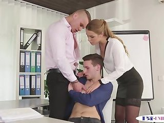 Anal,Fetish,Blowjob,gay Office stud seduced and assfucked