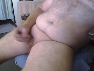 bear;small;cock;chub;daddy,Daddy;Solo Male;Gay;Bear;Amateur;Handjob;Chubby Part 1. Edging and poppers (no cum see Part 2)