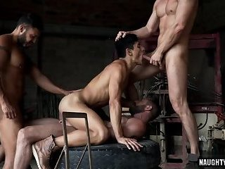 Anal,Rimming,gay,hardcore,group sex,fuck,big dick,dap Big dick gay dap with facial