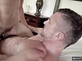 Anal,Hunks,Tattoo,facial,daddy,gay Tattoo daddy anal sex with facial cum
