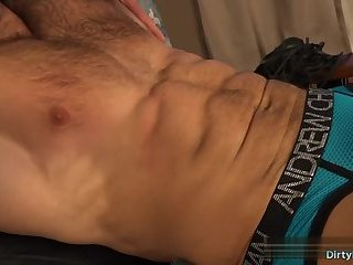 Bondage,Domination,Fetish,spanking,muscle,tickling,gay Muscle bodybuilder spanking and cumshot