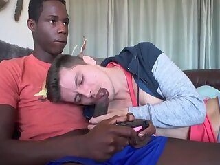 Anal,Cumshot,Big Cock,Domination,Ebony,Hunks,Interracial,Blowjob,muscle,cock 2 cock,gay Playing with his Joystick
