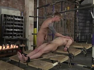 Masturbation,Bondage,Fetish,Blowjob,kissing,facial,oral sex,shaved,uncut,wax,british,jocks, tattoos, brown hair, trimmed, large dick, short hair, smooth, rope, cum jerking off,bearded,blond hair,face fucking,Tyler Underwood,Koby Lewis,gay Cum-Faced Humiliation For Koby! - Koby Lewis & Tyler Underwood