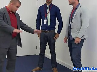Anal,Fetish,Office,gay Office stud ravaged by jock cock