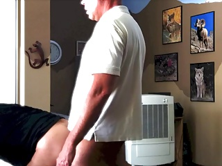 Amateur (Gay);Bareback (Gay);Bears (Gay);Gay Porn (Gay);Men (Gay) Bareback Office Fuck