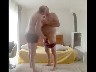 Amateur,Mature,daddy,gay Fuck the slave