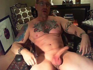 Amateur,Masturbation,Solo,Mature,Tattoo,daddy,webcam show,gay Hot inked muscle DILF