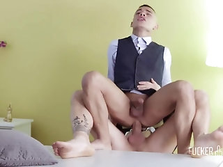 Anal,Cumshot,Big Cock,Latinos,Rimming,Tattoo,Blowjob,Bareback,gay KOLDO GORAN & RANDY JUNIOR