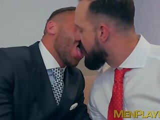 Anal,Masturbation,Big Cock,Blowjob,hunk,reality,suit,JACKET,businessmen,MenPlaying,executive,sex at work,gay,HD Office anal hammering with Andy Onassis and Emir Boscatto