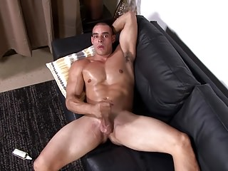 Big Cocks (Gay);Hunks (Gay);Masturbation (Gay);Military (Gay);Muscle (Gay);HD Gays;Active Duty (Gay) ActiveDuty Thick Cock Muscular Str8 Jerks off with Lube