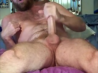 Amateur,Masturbation,Solo,Mature,daddy,gay Hairy thick mature cock smasher