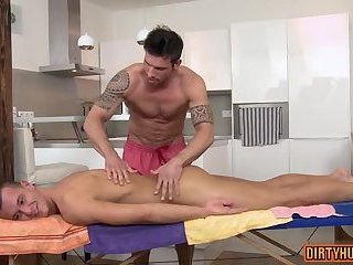 Anal,Handjob,Blowjob,Massage,muscle,daddy,gay Muscle daddy anal sex and facial