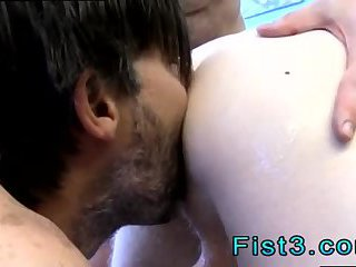 fetish,fisting,gays,doggy style,hardcore,anal fisting,brunette,gay Nasty dude gets ass fisted