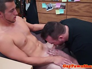 anal,hunks,blowjob,oral,hunk,brunette,muscled,cute,gay Straight pawnee blown on for cash in pawnshop