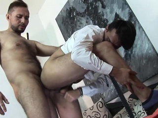 Asslick (Gay),Blowjob (Gay),Gays (Gay),HD Gays (Gay),Twinks (Gay) Daddy Jasin Barebacks Young Ramiro